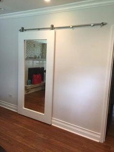 Mirrored Door