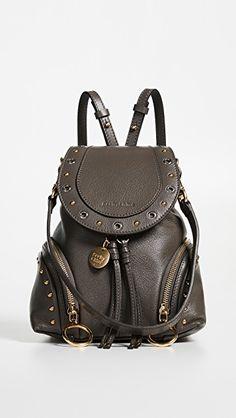 75478be588 See by Chloe Olga Small Convertible Backpack Stylish Backpacks