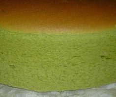Matcha Japanese Cheesecake.