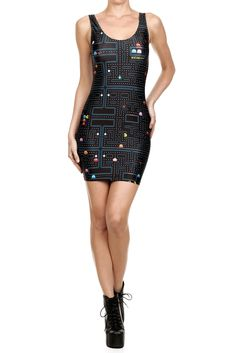 Pac-Man Bodycon Dress from POPRAGEOUS