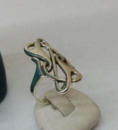Vintage Ringe - Silberring 925 in außergewöhnlichem Design SR742 - ein Designerstück von Atelier-Regina bei DaWanda