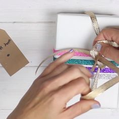 3 Easy Gift Wrapping Ideas #gift #wrapping #diy #gifts #christmas #unicornparty #llamas