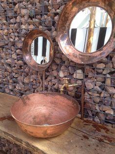 Copper at Sandalandala Copper Uses, Pure Copper, Kitchen Inspiration, Design Inspiration, Copper Vessel, Copper Mountain, Copper Decor, Copper Accents, Copper Kitchen