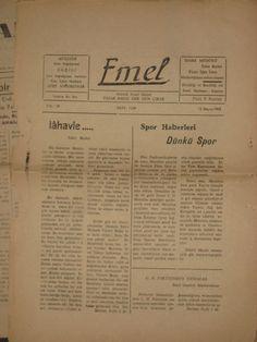 Emel Gazetesi 1958