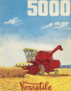 Versatile 5000 combine ad