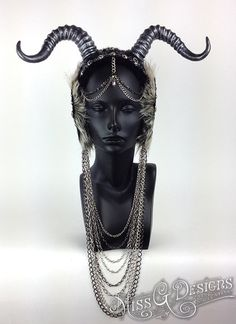 MADE TO ORDER Vegan Faux Horn Headdress