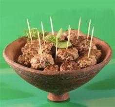Boulettes de viande aux épices douces