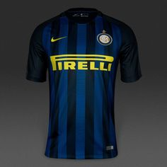 Inter Milan 2016 17 Home Men Soccer Jersey Personalized Name and Number 76839004ee25f
