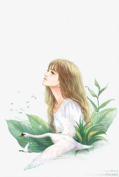 Read Girl art from the story Galeri Vector & Gambar Mentahan by la_flz (HIATUS) with reads. Illustration Girl, Character Illustration, Girl Cartoon, Cartoon Art, Stock Design, Cover Wattpad, Mode Instagram, Anime Art Girl, Aesthetic Art