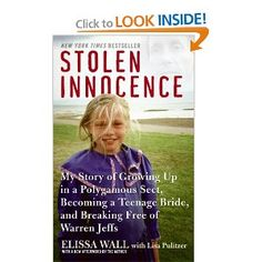 Great book about the Warren Jeffs FLDS