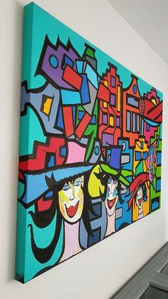 City ladies 80 x120 x4cm