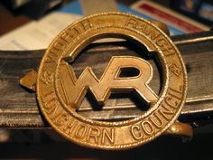 Worth Ranch Scout Camp belt buckle