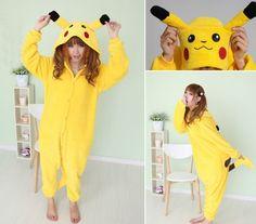 Pikachu Adult Men Women Unisex Animal Sleepsuit Kigurumi Cosplay Costume Pajamas Outfit Nonopnd Nightclothes Onesies Halloween Cheap Costume Clothing (M(162CM-171CM)) COHO http://www.amazon.ca/dp/B00JPV18EW/ref=cm_sw_r_pi_dp_4hbjub15S4FF7