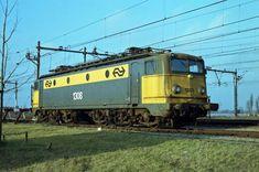 www.sporen-met-rob.n Electric Locomotive, Netherlands, Dutch, Europe, Train, Vehicles, Trains, Transportation, Historia