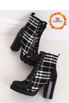 Stiefeletten mit Absatz ID 146821 Inello Mode Online, Heeled Boots, Heels, Black, Design, Products, Fashion, High Heel Boots, Heel