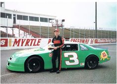 1993 Dale Earnhardt jr. Sundrop Pop sponsered Chevrolet Lumina. Dale Jr was just 19 years old when he ran in the Nascar Late Modle Stock.