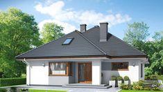Одноэтажный современный дом с тремя спальнями My House, Sweet Home, Shed, Outdoor Structures, Mansions, House Styles, Outdoor Decor, Home Decor, Houses