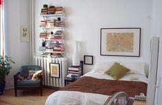 Shelves over radiator