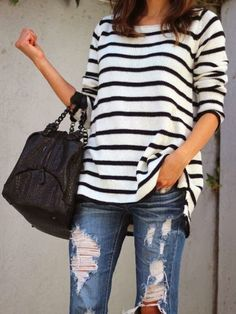 Fashion Fix: gestreepte trui