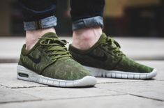 The Nike SB Stefan Janoski Max Returns In Legion Green