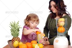 Buy Little girl making orange juice by goceris on PhotoDune. Little and adult girl made fruit juice studio shot Citrus Juicer, Nature Study, Studio Shoot, Fruit Juice, Orange Juice, Science Nature, Little Girls, Stock Photos, How To Make