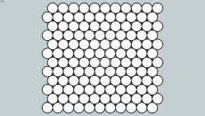 Model of Sheet - Dot Blend (Penny Rounds) 3d Warehouse, 3d Models, Wall Tiles, Tile Floor, Dots, Ceramics, Texture, Pattern, Sketchup Models