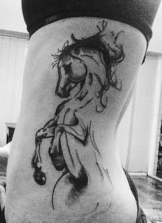 I'm a Horse Addict posted this tattoo and tagged friend Alexandra Cerbino Barrirero.