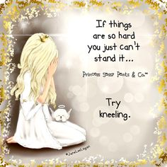 If things are hard…