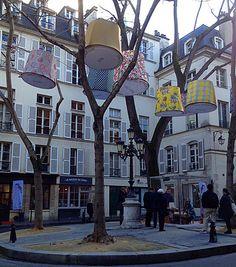 Saint Germain, Place de Furstenberg