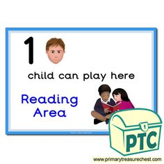 How Many Children... Reading Area Signs - Primary Treasure Chest Eyfs Classroom, Classroom Rules, Teaching Activities, Teaching Ideas, Ourselves Topic, Children Reading, A4 Poster, Sign Image, English Resources
