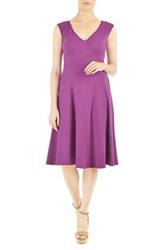 eShakti Women's Custom Curved empire waist stretch knit d... http://www.amazon.com/dp/B01FXQ6Q80/ref=cm_sw_r_pi_dp_A6nsxb0TBGWAD