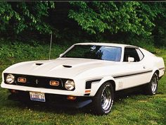 1972 Ford Mustang Mach 1 Front Driver Side
