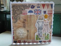 Stamped, pro-markers, embossing, distressing & embellishments