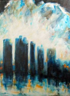 Les brumes du Nord  40 x 36 inches