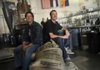 Tim Thwaites, left, and his brother, Tommy, presidents of Denver-based Coda Coffee Co., are making a big effort to be socially responsible i...