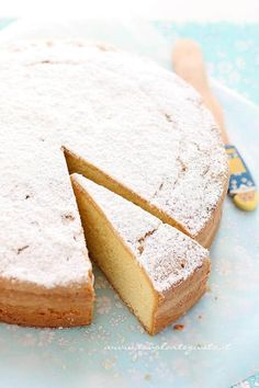 it wp wp-content uploads 2014 04 Torta-Paradiso-consigli-per-la-ricetta-perfetta-Ricetta-Torta-Paradiso. Paradise Cake Recipe, Wine Recipes, Dessert Recipes, Sweet Cooking, Torte Cake, Just Cakes, Almond Cakes, Breakfast Dessert, Pastry Cake
