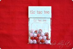 Tic Tac Toe MM Treat Card Free Template. Click on link and Download in top corner of screen to get pdf. http://dixiedelights.blogspot.ca/2013/02/tic-tac-toe-valentine-free-printable.html