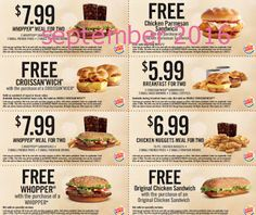 Burger King Coupons Promo Coupons will expired on MAY 2020 ! About Burger King Have a Burger King coupon at mealtime. Free Printable Coupons, Free Coupons, Print Coupons, Free Printables, Dollar General Couponing, Restaurant Deals, Chicken Nugget Recipes, Fast Food Chains, Grocery Coupons