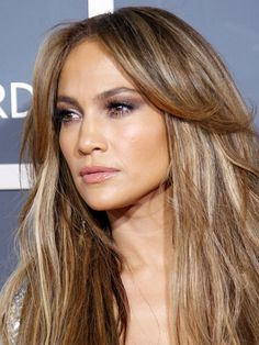 "Jennifer Lopez does ""Bronde"" with a bit more brown than blonde."