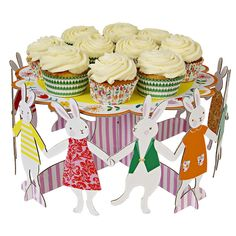 Hop to it! Cake Stand - perfect for upcoming Easter party