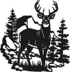 """Explore our internet site for additional relevant information on """"metal tree art decor"""". It is an excellent area to find out more. Silhouette Cutter, Silhouette Art, Silhouette Projects, Deer Silhouette Printable, Animal Silhouette, Metal Tree Wall Art, Metal Art, Wood Wall, Hirsch Silhouette"""