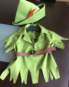 Adorable Peter Pan Costume for Toddlers available by TwoBluTulips