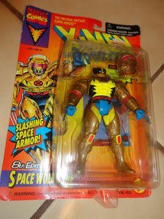 Uncanny X-Men Action Figure Toy Biz SPACE WOLVERINE 8 VIII Vintage 90s NEW xmen #ToyBiz