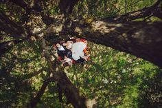 свадебная фотосессия плед пикник