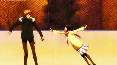 Ichigo and Rukia - Bleach Bleach Ichigo And Rukia, Bleach Anime, Manga Couple, Couple Cartoon, Shinigami, Manga Anime, Bleach Couples, Kaichou Wa Maid Sama, Cute Anime Couples