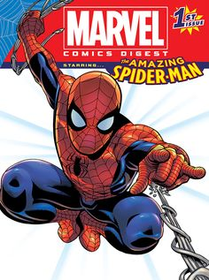 """Marvel Entertainment and Archie Comics, two of the leading pop culture and entertainment brands in the world, announced plans to create and distribute a new MARVEL COMICS DIGEST for """"big box retail…"""