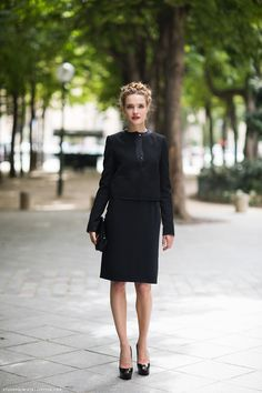 Natalia Vodianova - at Ulyana Sergeenko Haute Couture Show