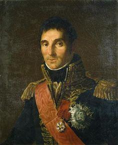 """Marshal Masséna - Baron Antoine-Jean Gros (1771-1835) - Marshal Masséna. Oil on Canvas. Circa 1804. 28.7"""" x 23.6"""" (73cm x 60cm). Marshal André Masséna (1758-1817). 1st Duc de Rivoli  1st Prince d'Essling. Napoleon's """"l'Enfant Chéri de la Victoire"""" (The Dear Child of Victory)."""