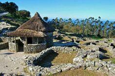 A Guarda. Monte de Santa Tecla. Castro celta. Citania.