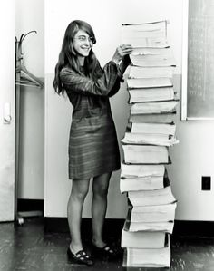 Instead of just supporting her husband's career, Margaret Hamilton invented the modern concept of software.